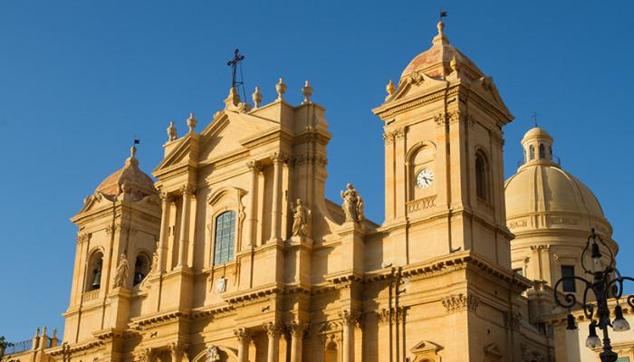 La cattedrale di San Nicolò, Noto