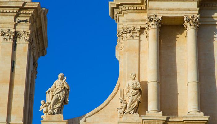 un dettaglio della cattedrale